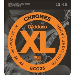 D'ADDARIO ECG23 - Chromes...